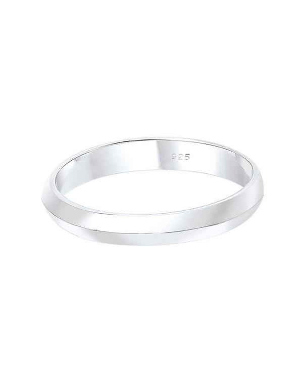 Elli Elli Ring Basic Trend Stapelring 925 Silber silber