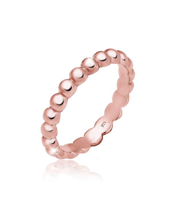 Elli Elli Ring Stacking Trend 925er Sterling Silber rosa