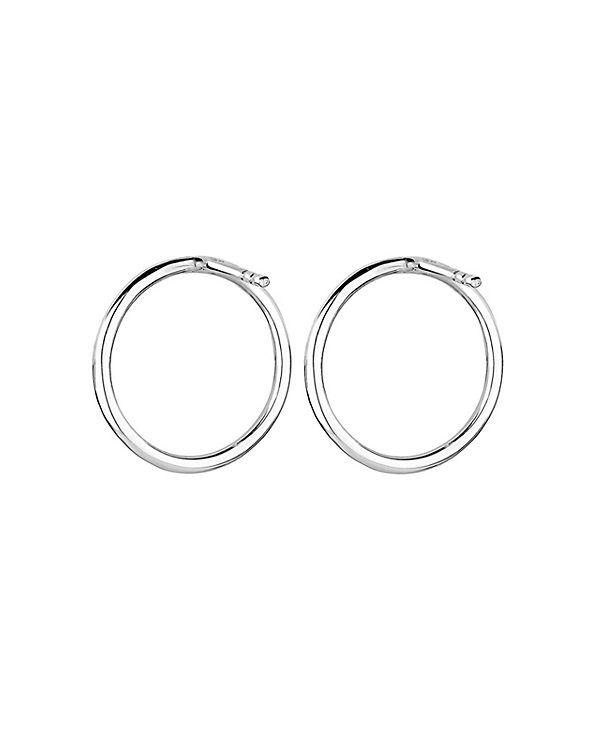 Elli Ohrringe Kreis Geo Trend Minimal Filigran 925 Silber silber