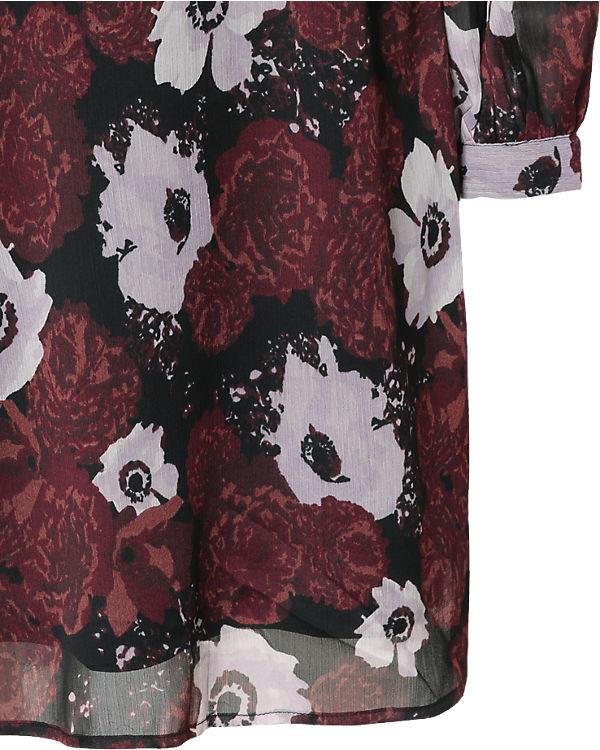 pieces Kleid dunkelrot