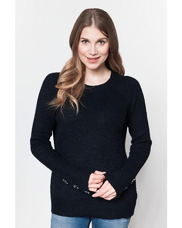 VERO MODA Pullover schwarz
