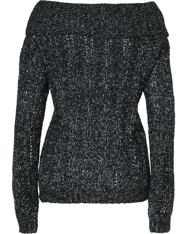 VERO MODA Off-Shoulder Pullover schwarz