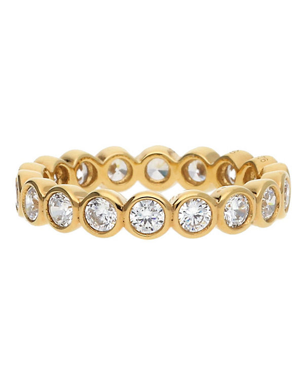 ESPRIT Ring 925 Silber Gold Embrace Glam ESRG92348B gold