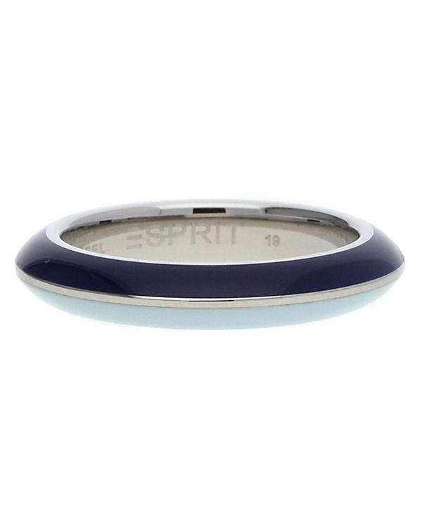 ESPRIT Ring Marin 68 ESRG11562H dunkelblau