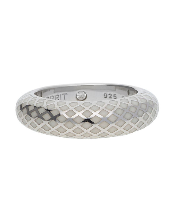 ESPRIT Ring 925 Silber Lattice ESRG91919C silber
