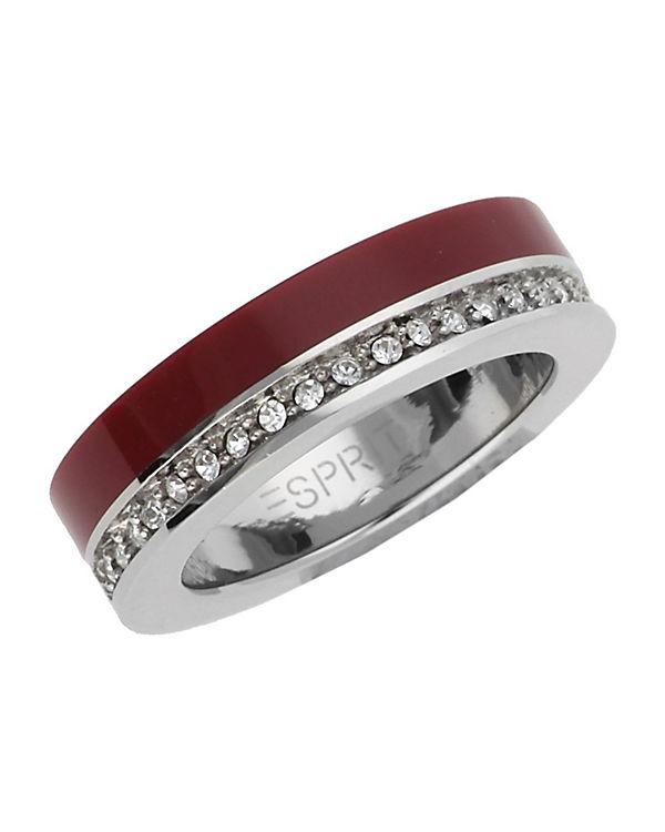 ESPRIT Ring Marin 68 Glam ESRG11565J bordeaux
