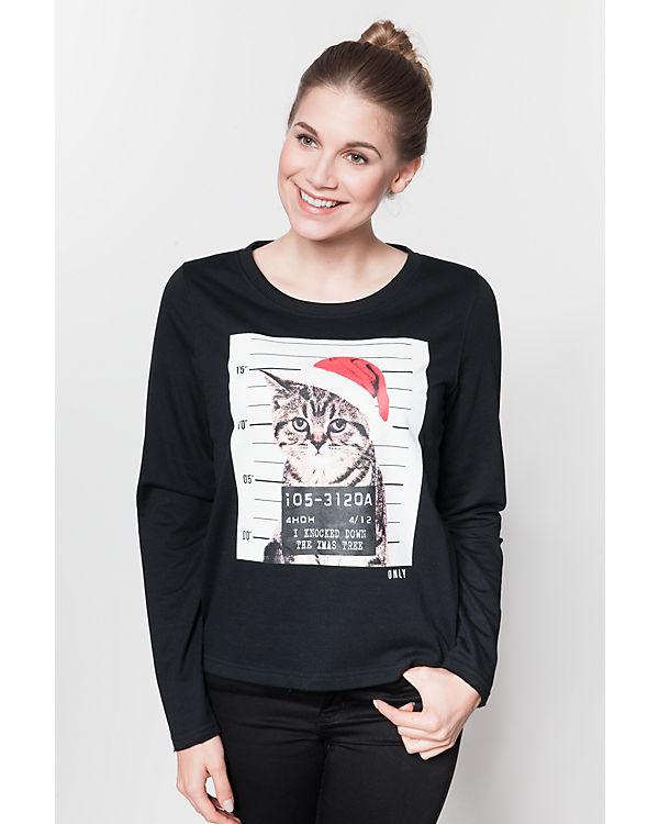 VERO MODA Sweatshirt schwarz