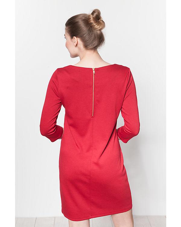 VILA Kleid rot