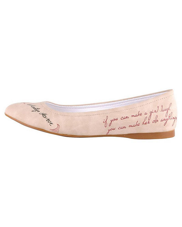 Klassische Ballerinas Marilyn Monroe mehrfarbig