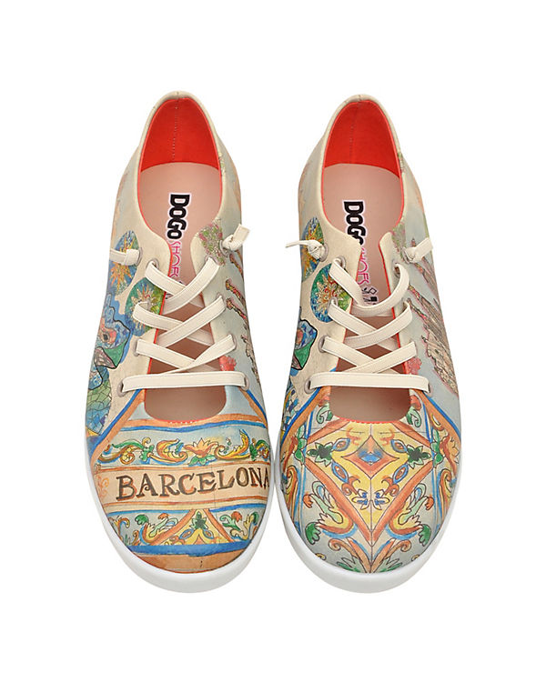 Sneakers Low barcelona blues mehrfarbig