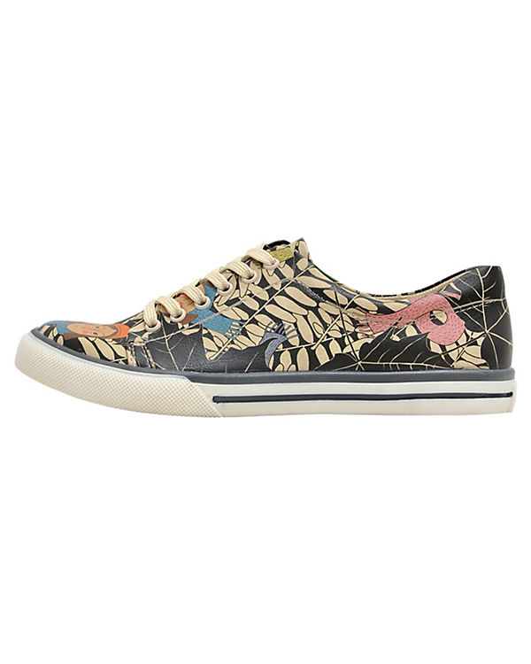Sneakers Low Leaves mehrfarbig