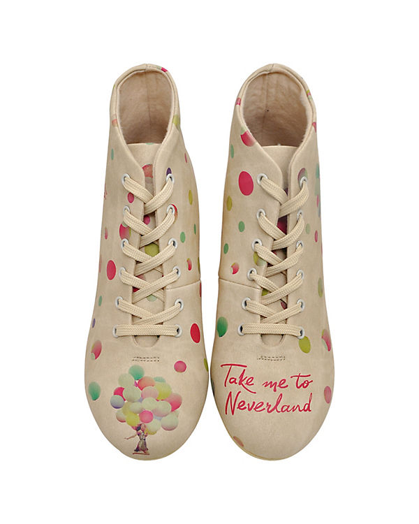 Sneakers High Take Me To Neverland mehrfarbig