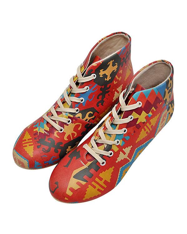 Sneakers High Old Rugs mehrfarbig