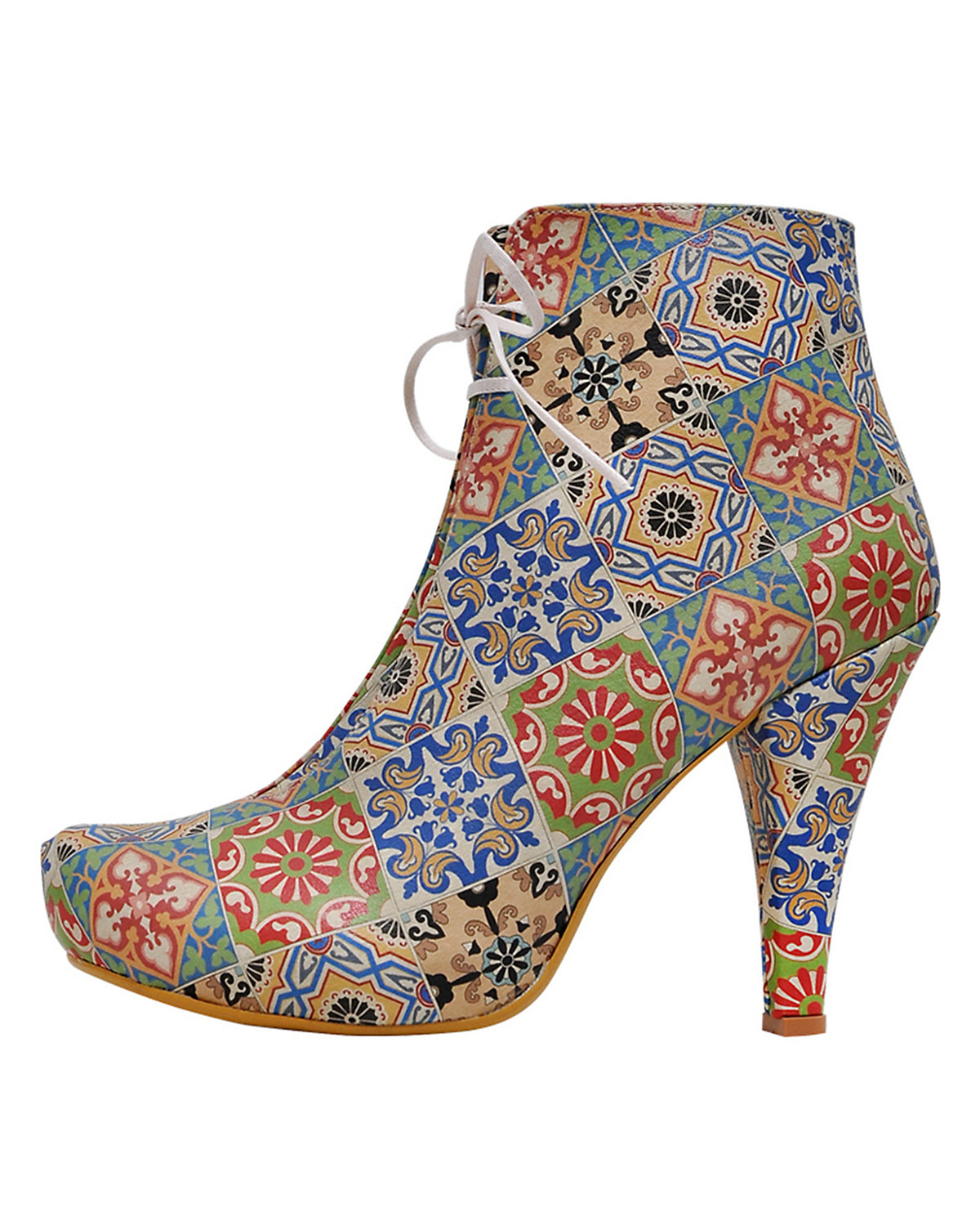 Dogo Shoes, Ankle Boots Tiles, Tiles, Boots mehrfarbig c0a9dd