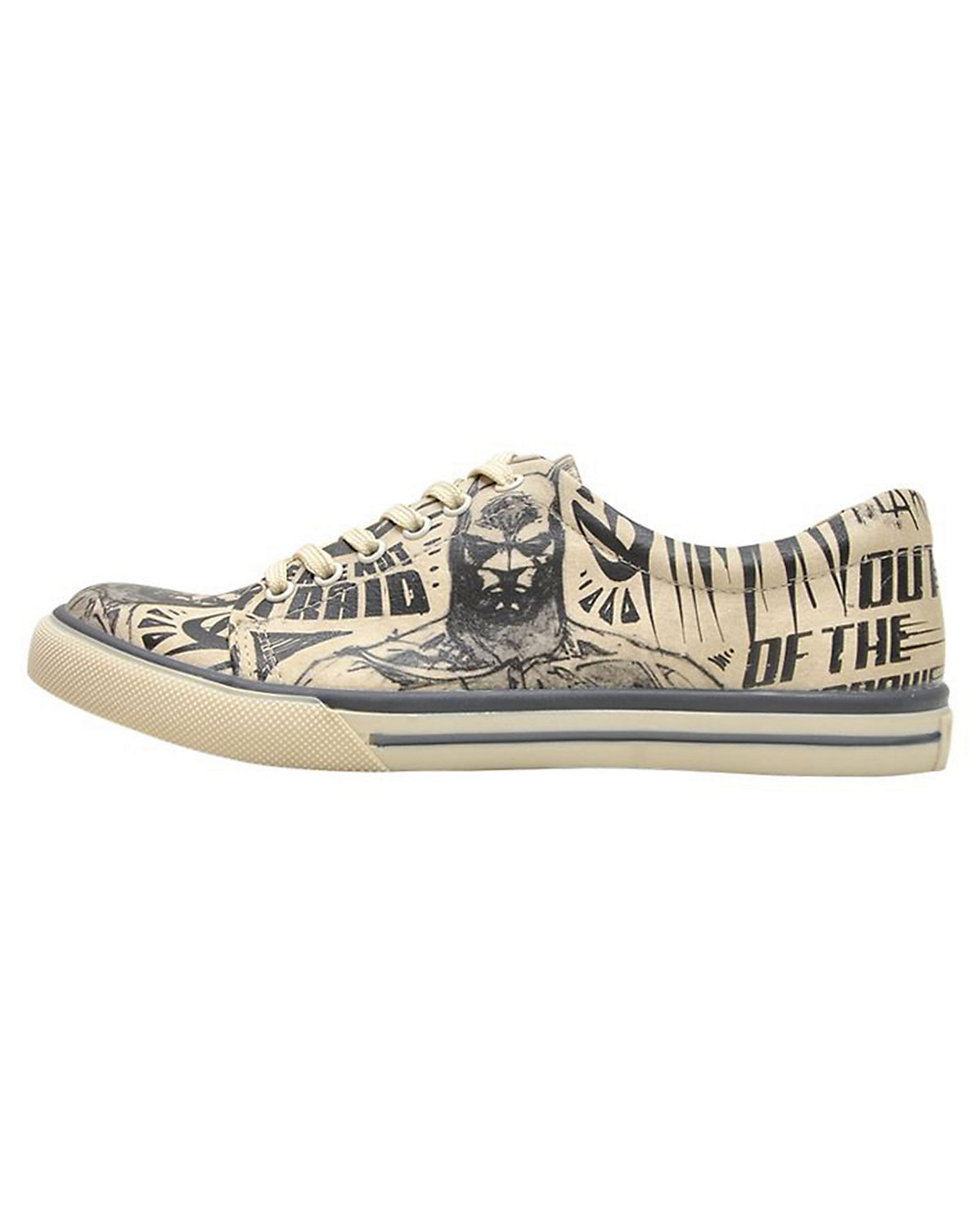 Dogo Sneakers Shoes, Sneakers Dogo Low Batman Sketch, mehrfarbig e45c62