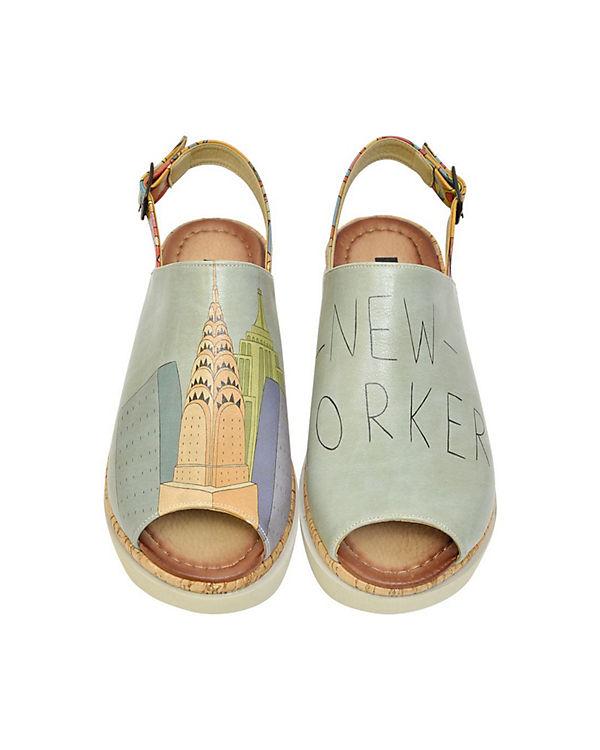 Komfort-Sandalen Manhattan mehrfarbig