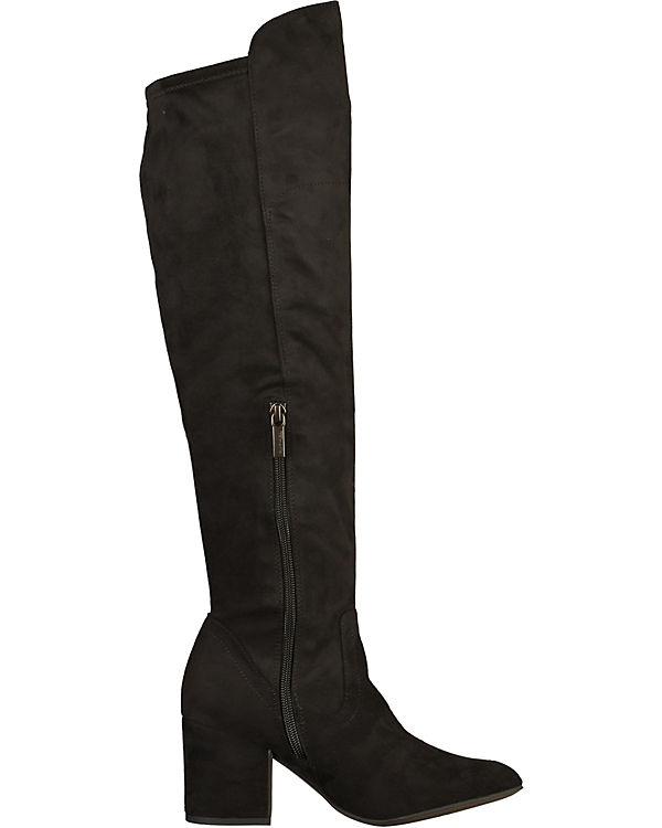 Overknee-Stiefel schwarz