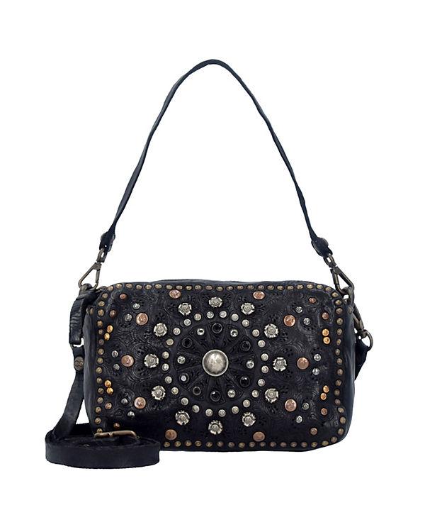 Campomaggi Bauletto Mini Bag Handtaschen schwarz