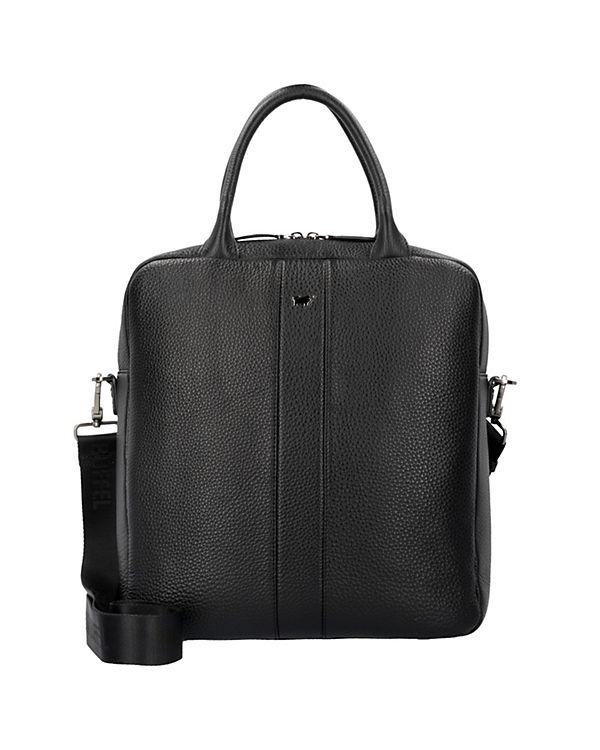 Braun Büffel Turin Handtaschen schwarz