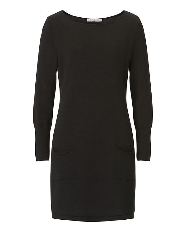 Betty Barclay Strickkleid mit aufgesetzten Taschen schwarz