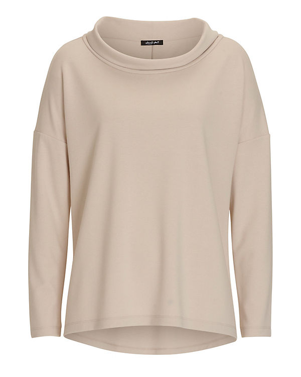 Betty Barclay Sweatshirt grau/braun