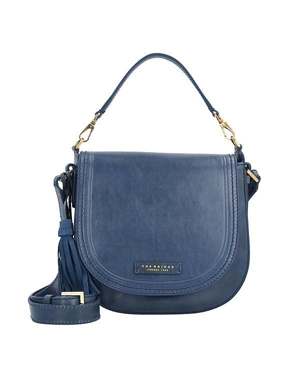The Bridge Handtasche Pearldistrict Handtasche 23 cm blau