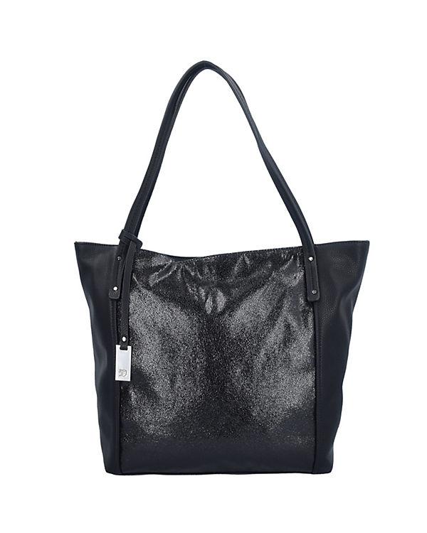 TOM TAILOR Denim Shopper Helena Shopper Tasche 44 cm schwarz
