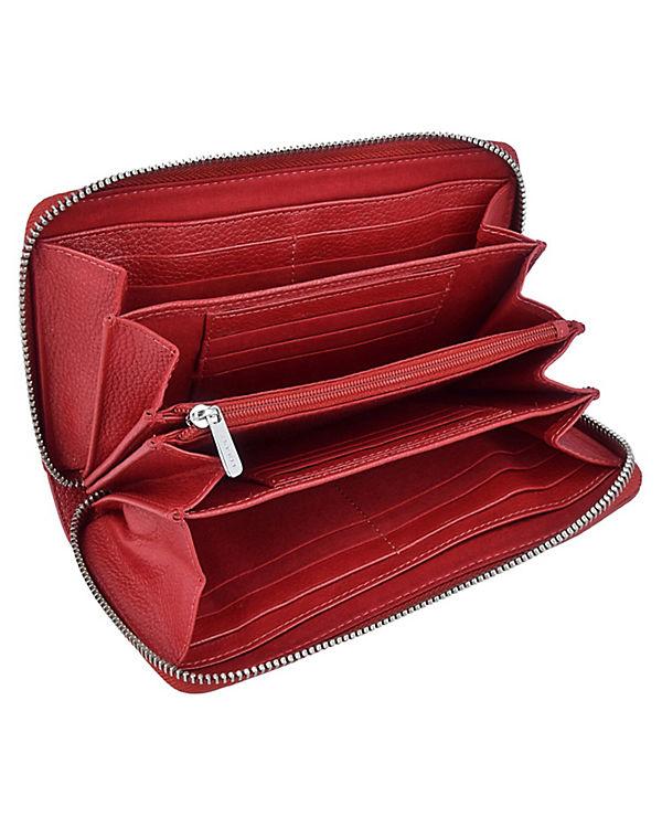 ESPRIT Casual Geldbörse 19 cm rot