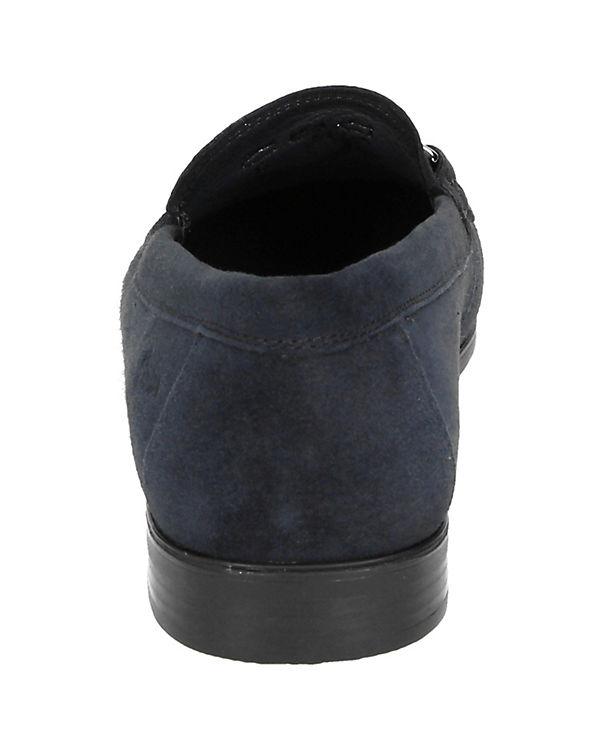 Klassische Slipper Cambria blau