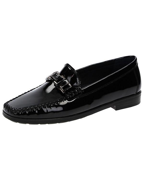 Klassische Slipper Cambria schwarz