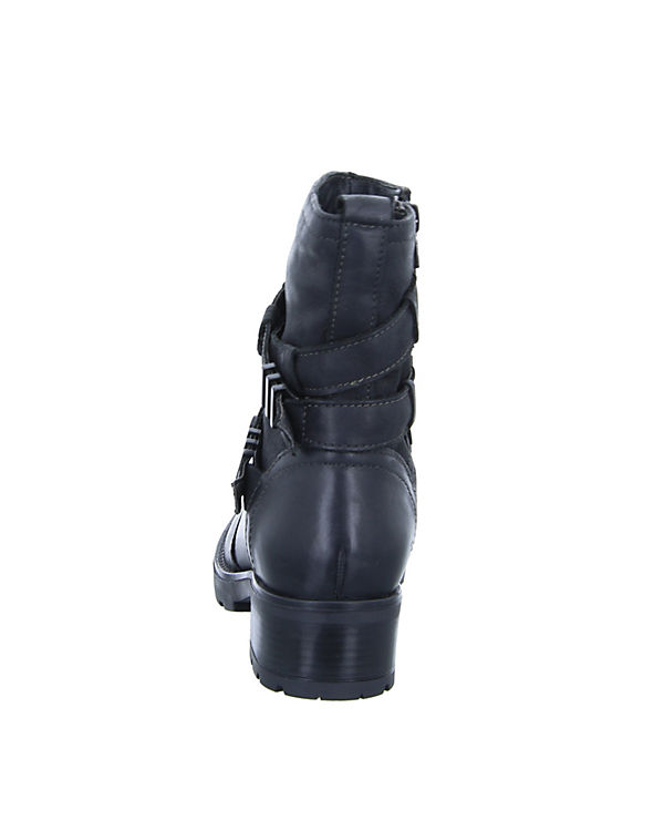 WH-169H05 Biker Boots schwarz