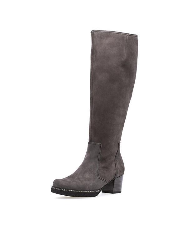 Klassische Stiefel grau