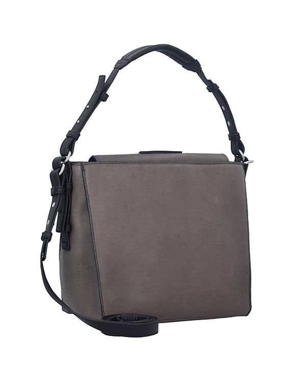 Marc O'Polo Handtasche Cube grau