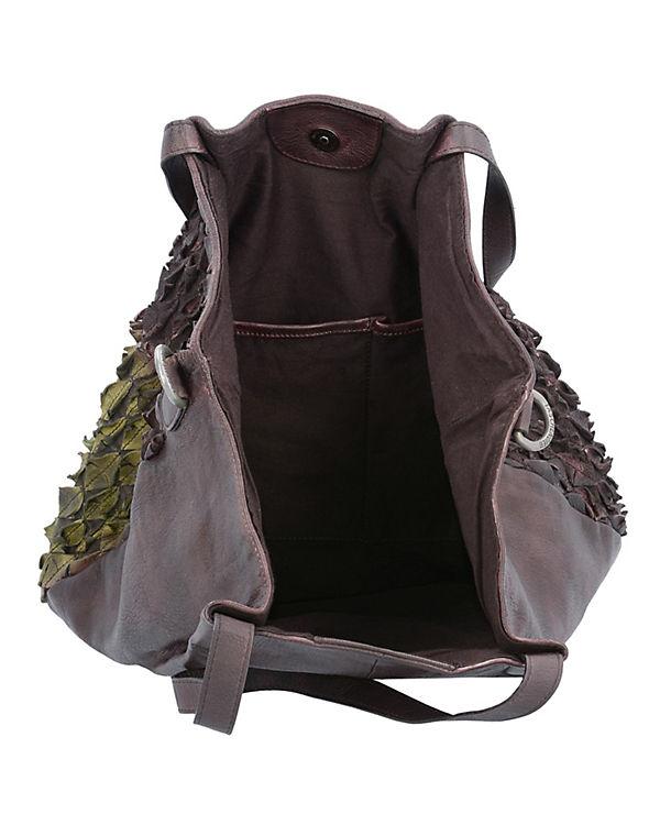 Taschendieb Shopper braun