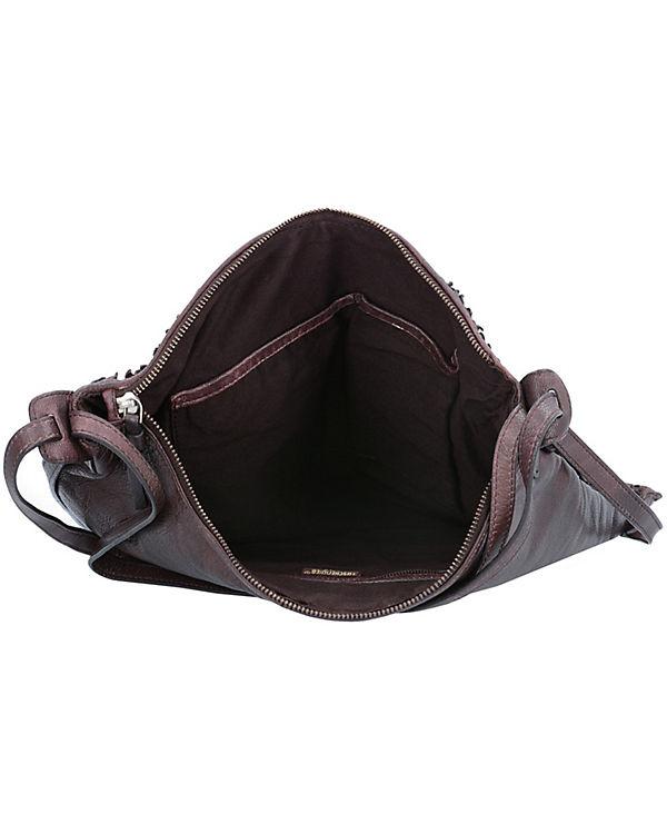 Taschendieb Handtasche braun