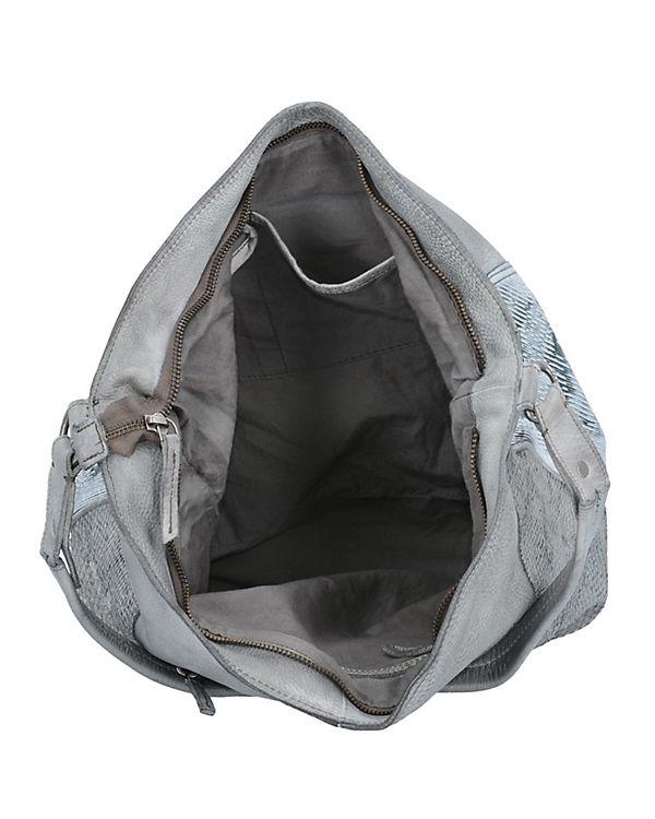 Taschendieb Handtasche silber