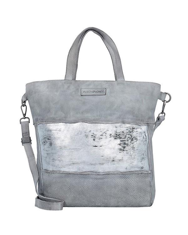 Taschendieb Shopper silber