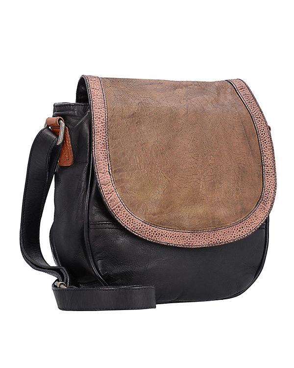 Taschendieb Umhängetasche schwarz