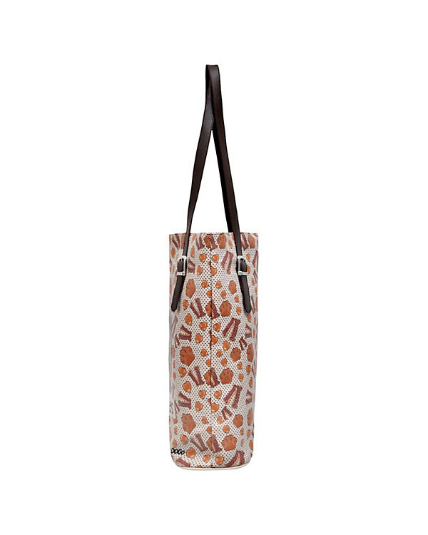 Dogo Shoes Umhängetasche Tall Bag Dogs & Cookies bunt