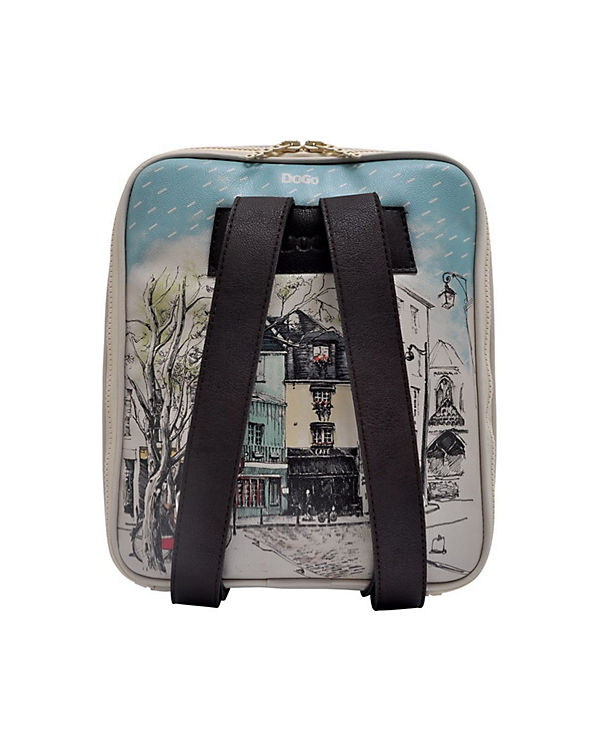 Dogo Shoes Rucksack Smally Bag Paris oh la la bunt