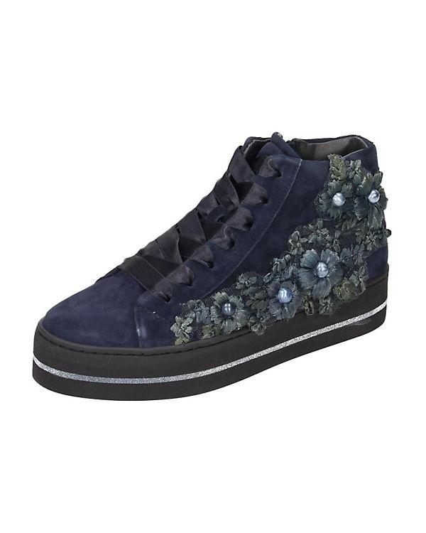 Sneakers High blau