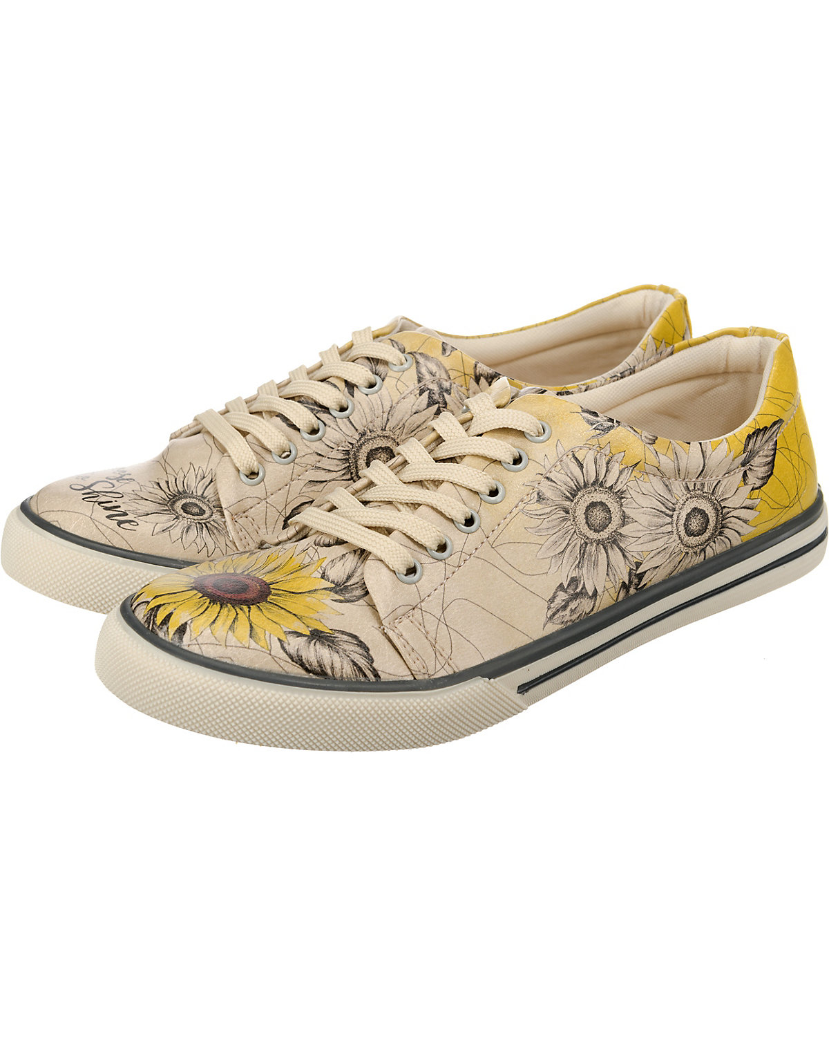 Dogo Shoes, Sunflower Sneakers Low, mehrfarbig