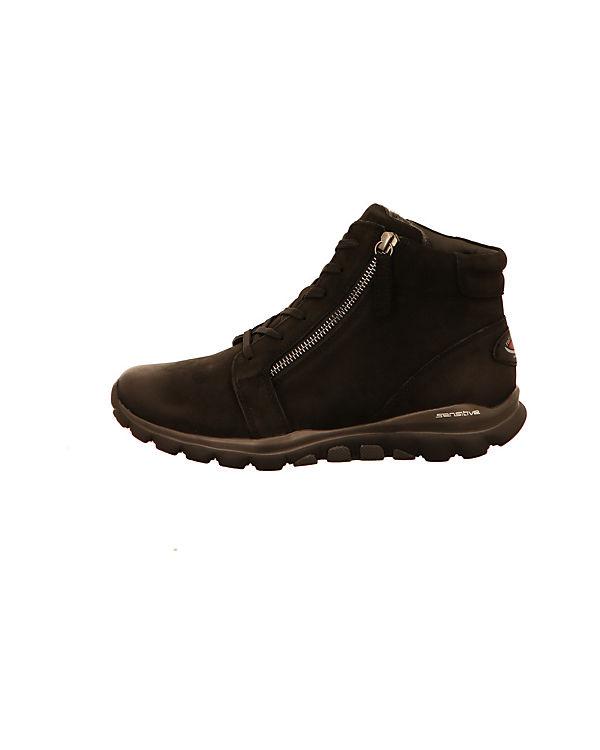Komfort-Stiefeletten schwarz
