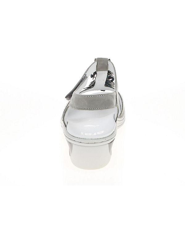 T-Steg-Sandaletten beige