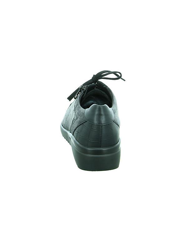 Schnürschuhe schwarz