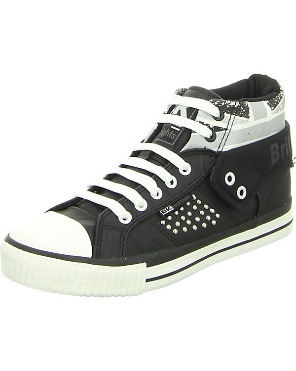 Sneakers High schwarz