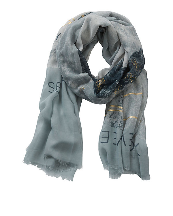 Betty & Co Schal blau