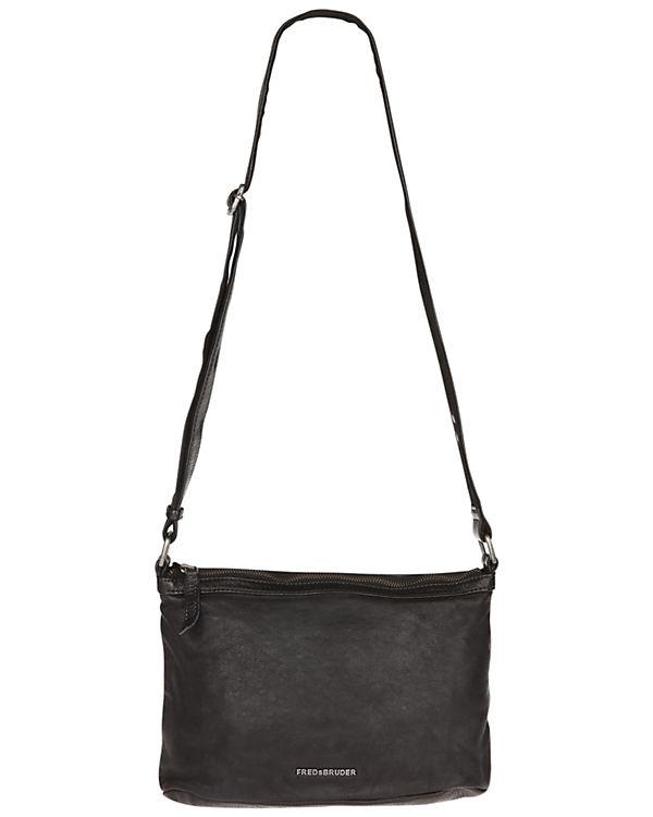 FREDsBRUDER Handtasche BLOOM schwarz