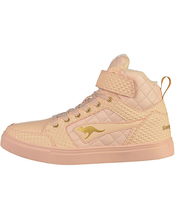 Sneakers High nude