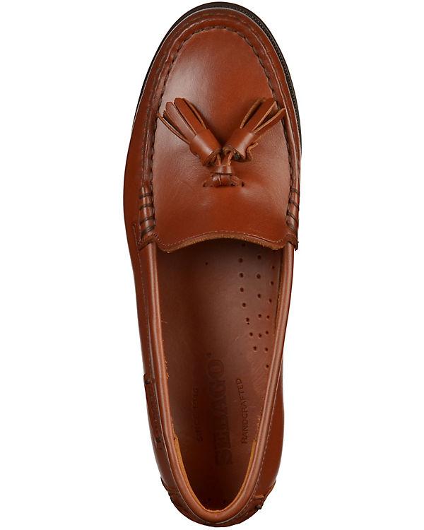 Klassische Slipper braun